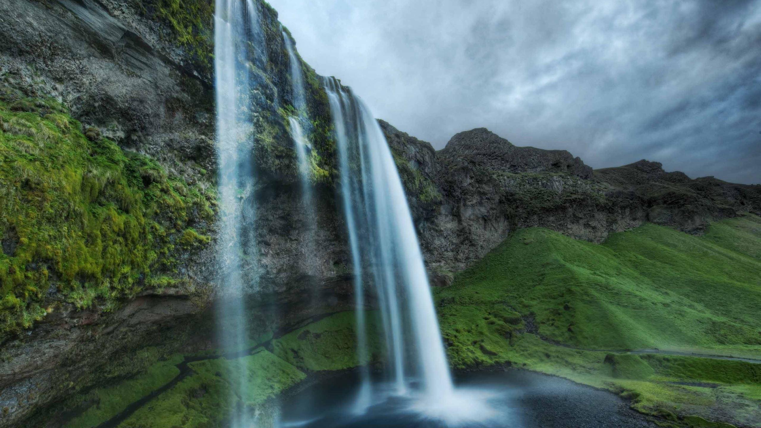 Iceland Waterfall Macbook Air Wallpaper Download Allmacwallpaper