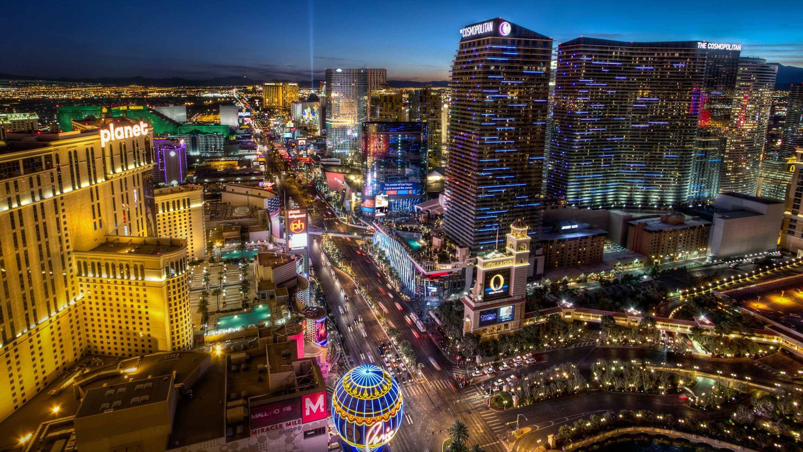 Las Vegas Blvd South Mac Wallpaper Download Allmacwallpaper