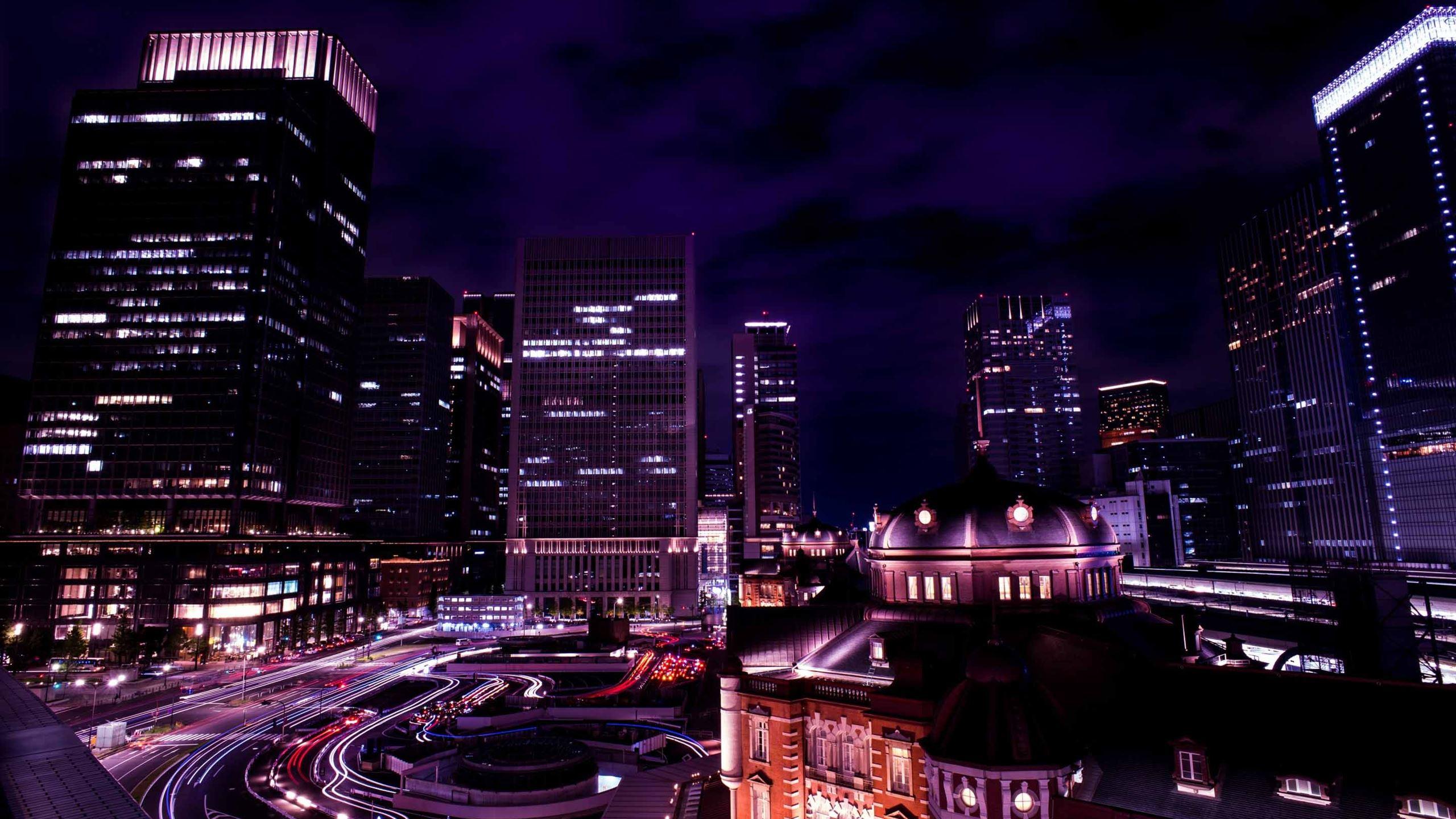 Tokyo Night View Japan Macbook Air Wallpaper Download Allmacwallpaper