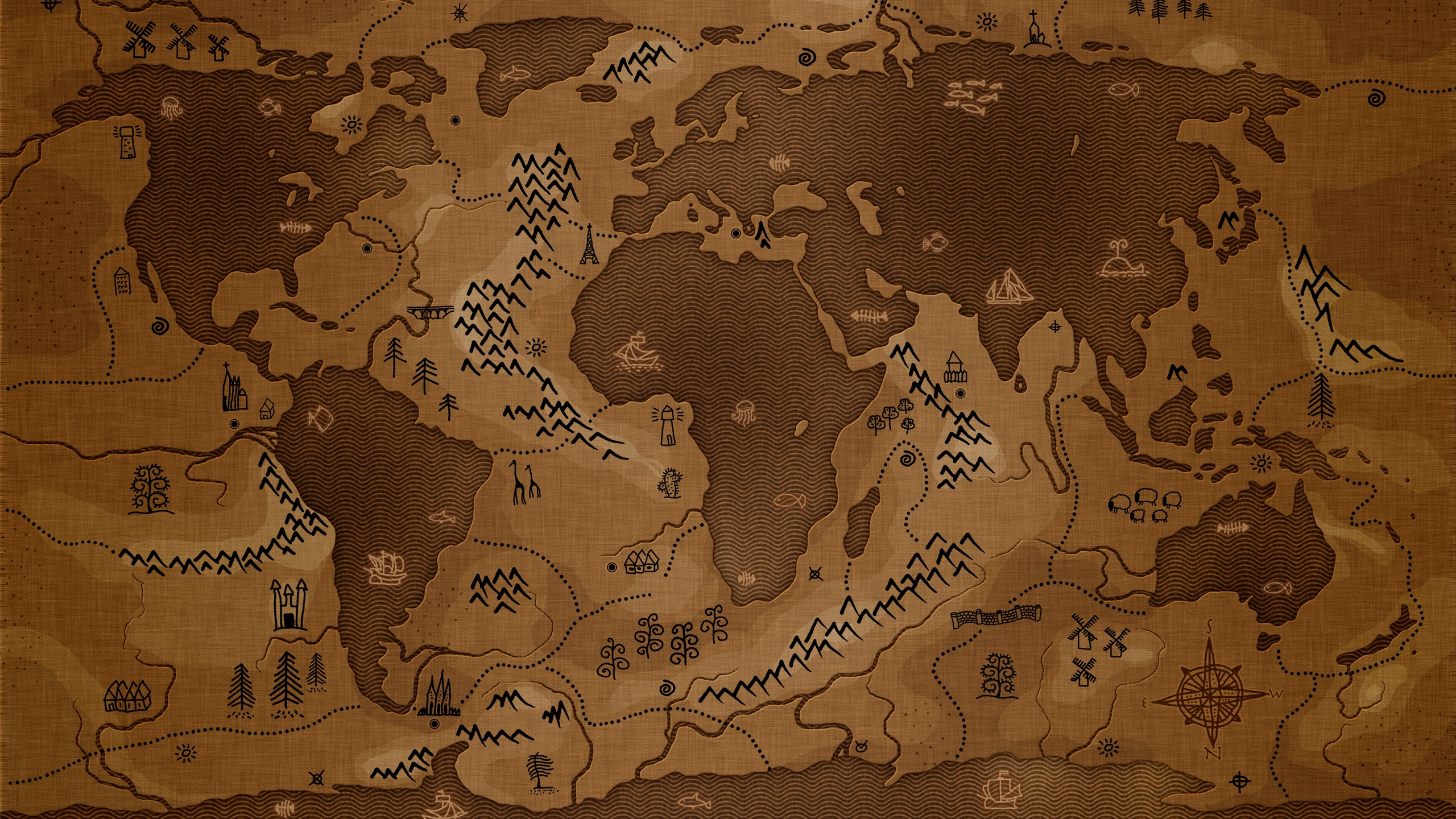 Treasure Map Mac Wallpaper Download Allmacwallpaper