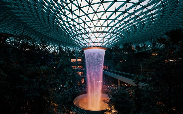 Jewel Changi, Singapore iMac wallpaper