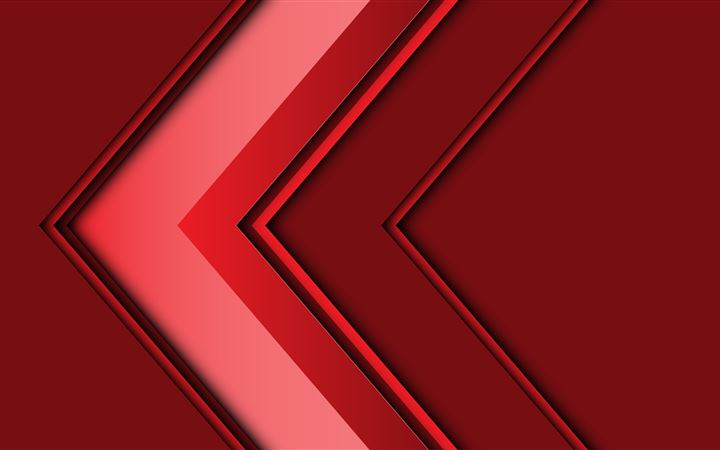 abstract arrow 3d red 5k iMac wallpaper