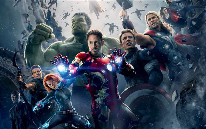 avengers age of ultron 8k iMac wallpaper