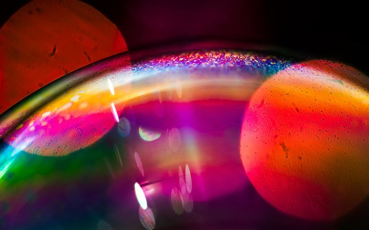 bubble exploration 5k iMac wallpaper