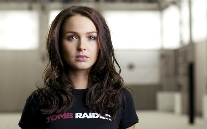 camilla luddington 5k iMac wallpaper