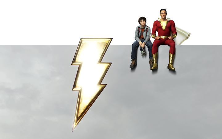 dc shazam 2019 movie iMac wallpaper