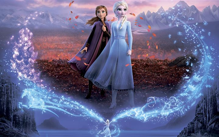 frozen 2 5k iMac wallpaper