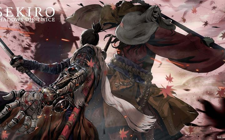 sekiro shadows die twice 5k iMac wallpaper