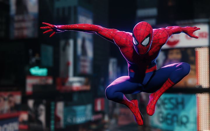 spiderman remastered 5k iMac wallpaper
