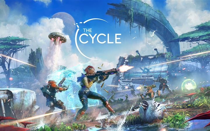 the cycle season 2 crescent falls key art 5k iMac wallpaper