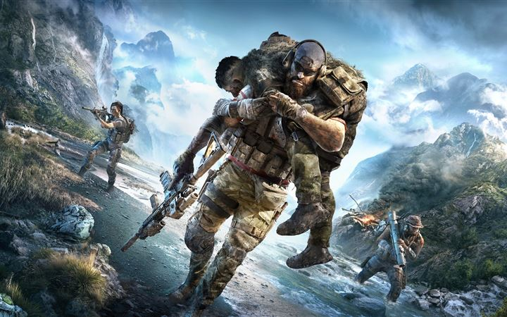 tom clancys ghost recon breakpoint iMac wallpaper