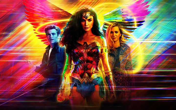 wonder woman 1984 dc comics 5k iMac wallpaper