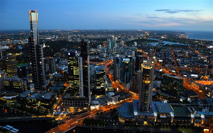 Australia melbourne cityscapes All Mac wallpaper