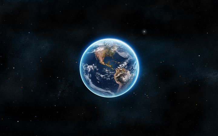 Earth The Blue Planet All Mac wallpaper