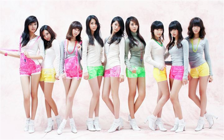 Girls Generation 6 All Mac wallpaper