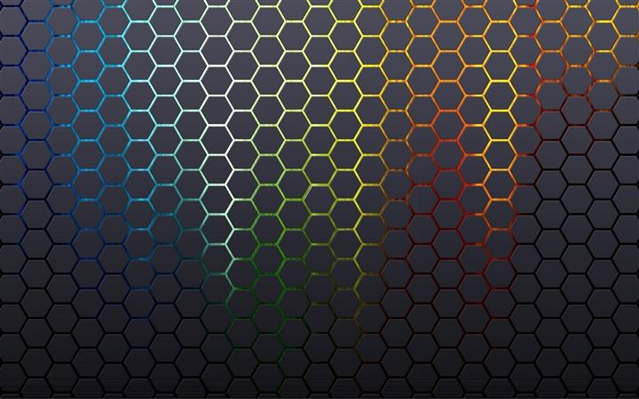 Hexagons Textures Honeycomb Background All Mac wallpaper