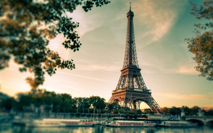 Lovely Eiffel Tower View All Mac wallpaper