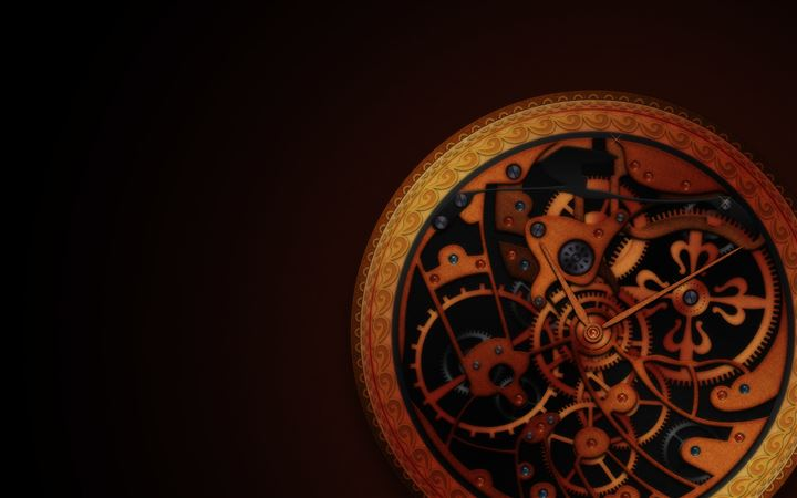 Mechanical wheels All Mac wallpaper