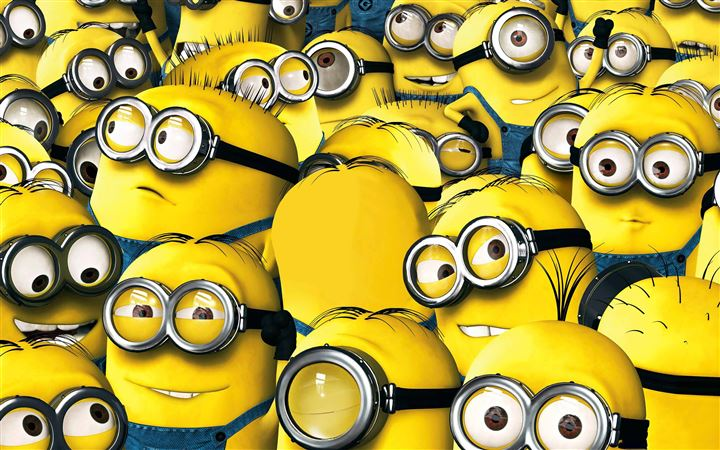Minions 2015 All Mac wallpaper