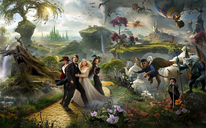 Oz The Great And Powerful 2013 Movie All Mac wallpaper