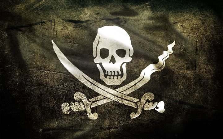 Pirate Flag All Mac wallpaper