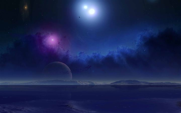 Science Fiction Scenery All Mac wallpaper