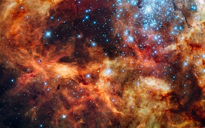 Star Cluster All Mac wallpaper