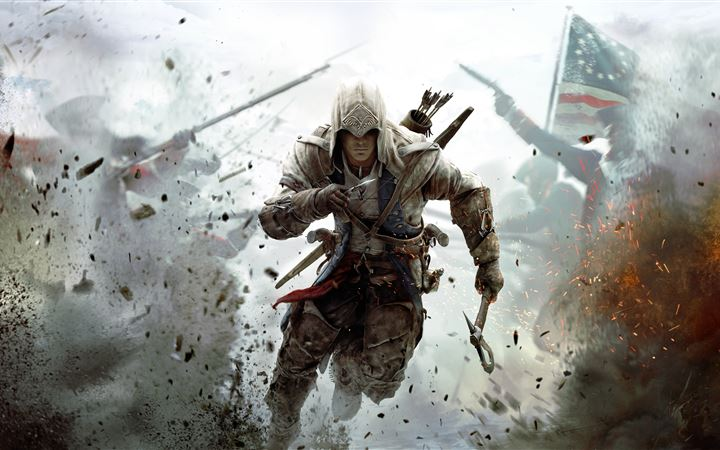 assassins creed 3 10k All Mac wallpaper