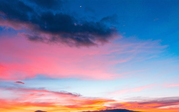 colorful sunset sky 5k All Mac wallpaper