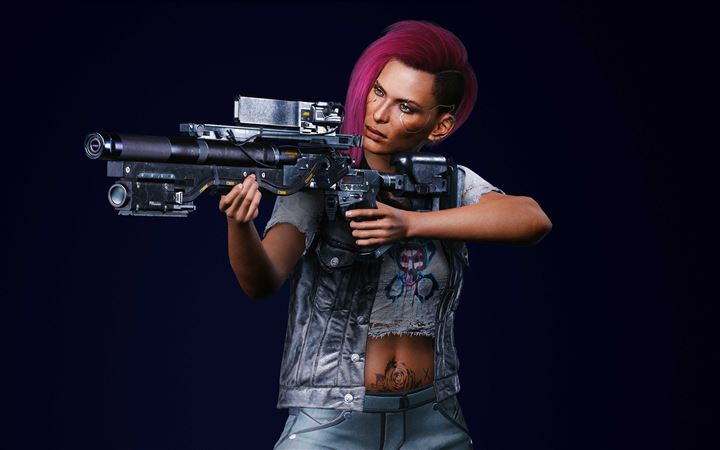 cyberpunk 2077 v female nomad action All Mac wallpaper