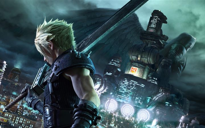 final fantasy vii remake 8k 2020 All Mac wallpaper