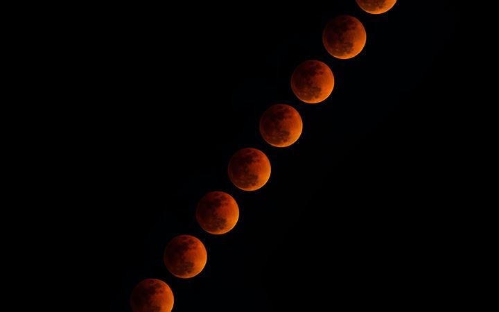 lunar eclipse All Mac wallpaper