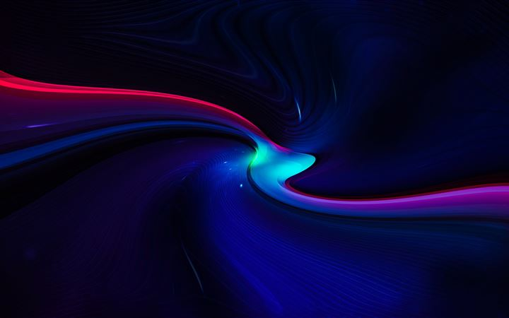 mini light path abstract 8k All Mac wallpaper