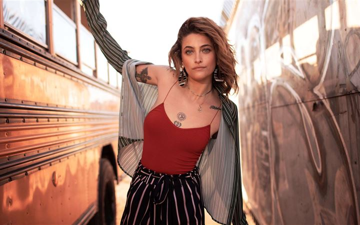 paris jackson All Mac wallpaper