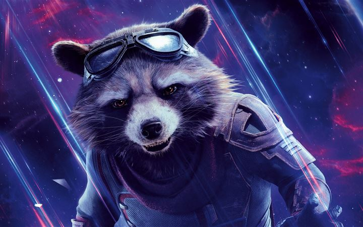 rocket avengers end game 8k All Mac wallpaper