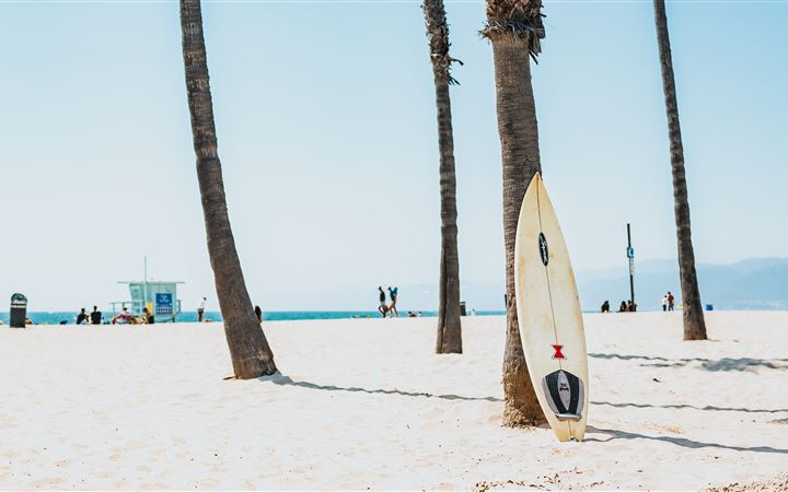 selective focus photography of white surfboard All Mac wallpaper