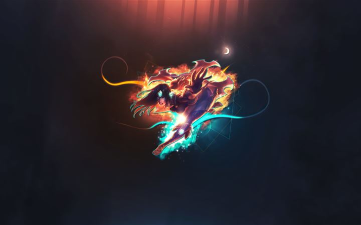 sivir league of legends 5k All Mac wallpaper