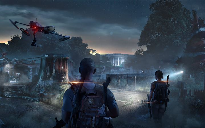 tom clancys the division 2 game 8k All Mac wallpaper