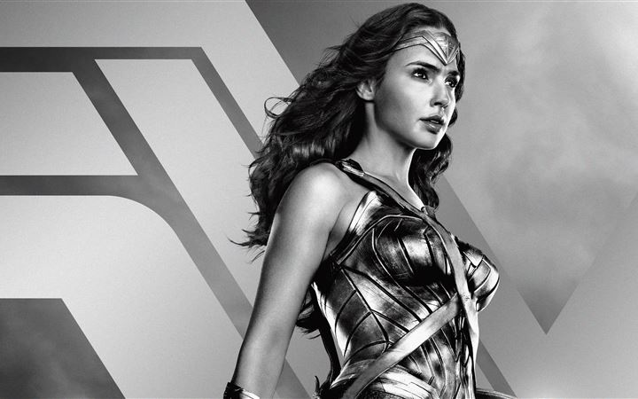 wonder woman jl zack synders cut poster 5k All Mac wallpaper