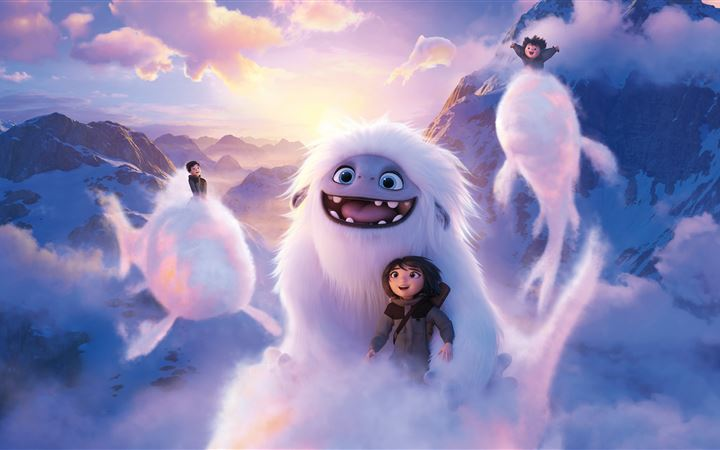 2019 abominable movie 8k All Mac wallpaper