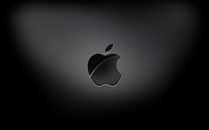 Aapple Black Background All Mac wallpaper