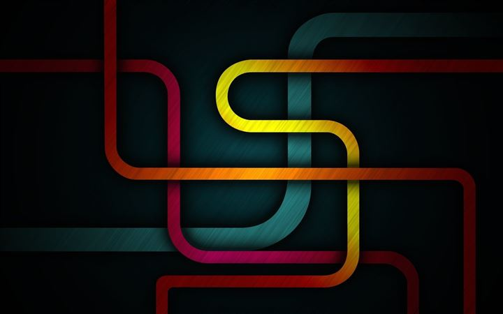 Abstract Shapes All Mac wallpaper