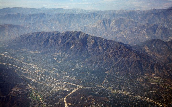 Aerial Phhotography Of Los Angeles All Mac wallpaper
