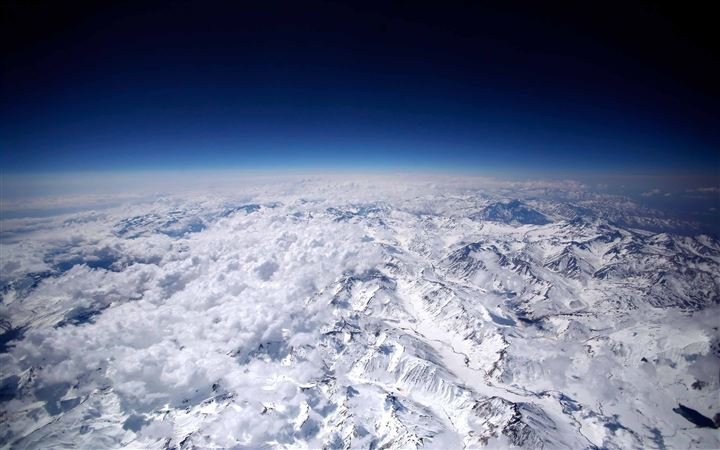 Andes Mountains All Mac wallpaper