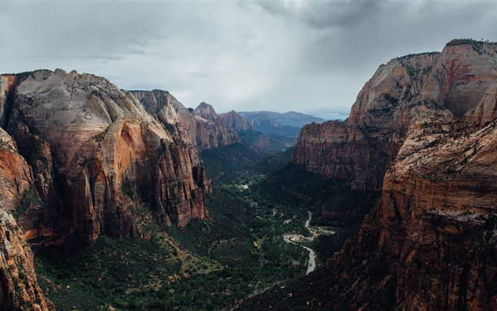 Angels landing All Mac wallpaper