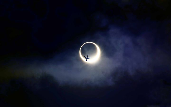 Annular Eclipse All Mac wallpaper