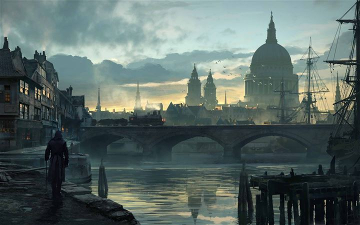 Assassins Creed Syndicate City All Mac wallpaper