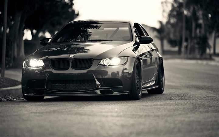 BMW Lights Grayscale BMW M3 All Mac wallpaper