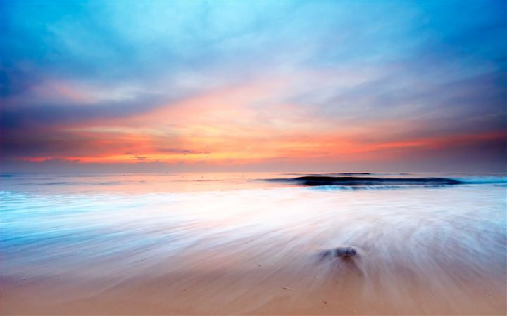 Beach Scenery MacBook Air wallpaper