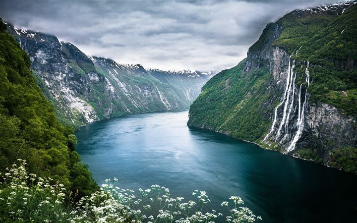 Beautiful Norwegian Landscape All Mac wallpaper